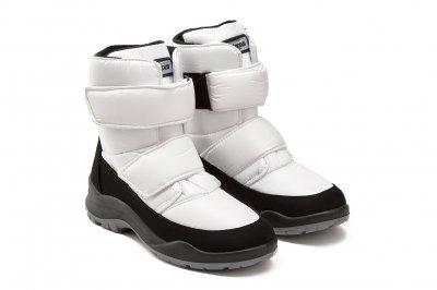 Ботинки Skandia TuonoBaltico_BlackWhite белый (1501R1)
