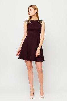 Платье Karree Брют P1704M5969 Бургунди