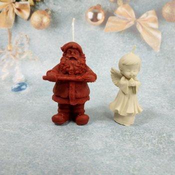 Набір Свічок Новорічний з 2 предметів в подарунковій упаковці 10112008