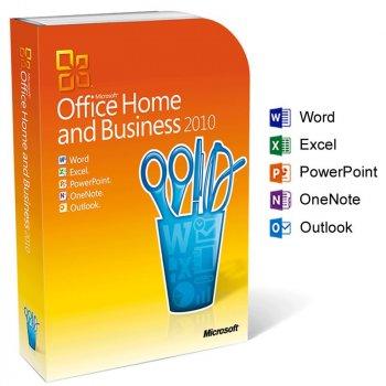 Офісне додаток Microsoft Office 2010 Home and Business 32/64bit Russian BOX (T5D-00412)