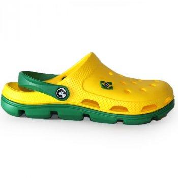 Сабо женские Jose Amorales 116104 желтый с зеленым (116104)