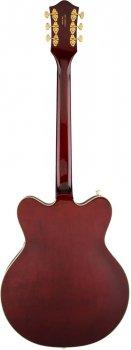 Полуакустическая гитара GRETSCH G5422TG ELECTROMATIC HOLLOW BODY DOUBLE CUT WALNUT STAIN GOLD HARDWARE