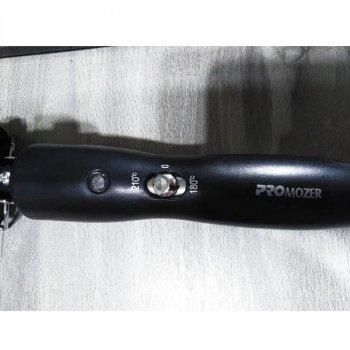 Плойка хвильова для волосся Pro Mozer потрійна з керамічним покриттям Чорна (MZ-6621)