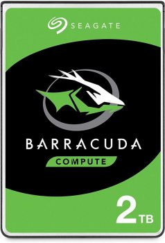 "Жорстку диск 2TB Seagate 3.5"" SATA 3.0 7200 256MB BarraСuda (ST2000DM008)"