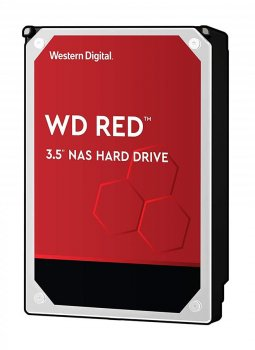 """Жорстку диск для серверів Wd 12TB 3.5"""" SATA 3.0 5400 256MB Red NAS (120EFAX)"""