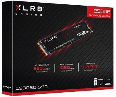 SSD-накопичувач PNY SSD M. 2 2280 250GB (M280CS3030-250-RB)