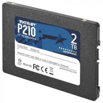 "SSD-накопичувач Patriot P210 2.5"" SATAIII TLC (P210S2TB25)"
