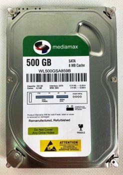 Жорсткий диск (HDD) Mediamax 5900rpm 8MB (WL500GSA859B) Refurbished (WL500GSA859B)