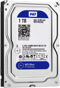 Жорсткий диск Western Digital Blue 1TB 5400rpm 64MB WD10EZRZ 3.5 SATAIII