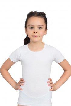 Футболка для девочки белая Baykar Б4644 рост 146-152