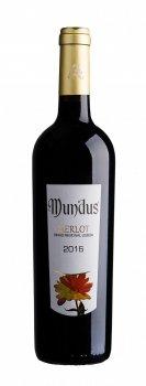 Вино Adega da Vermelha Mundus Merlot червоне сухе 0.75 л 13.5% (5602523111543)