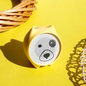 Bluetooth колонка Baseus Dogz Wireless Speaker Yellow (NGE06-0Y)