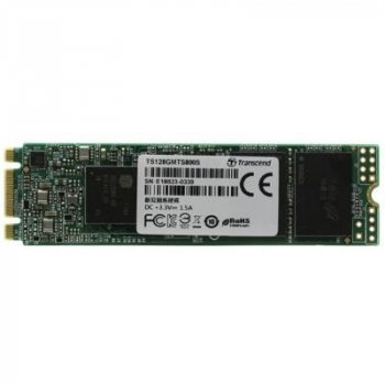 Накопитель SSD M.2 2280 128GB Transcend (TS128GMTS830S)