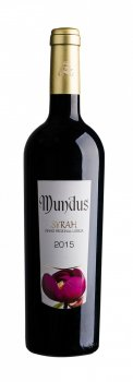 Вино Adega da Vermelha Mundus Syrah червоне сухе 0.75 л 13% (5602523120972)
