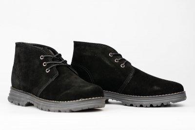 Ботинки утепленные мужские Crosby черный (408546-01-03/ЦО0002684)