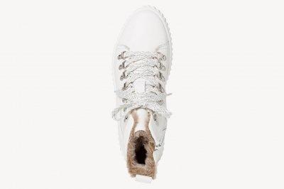 Полусапоги утепленные женские Tamaris белый (1-26260-25 100/ЦО0002698)
