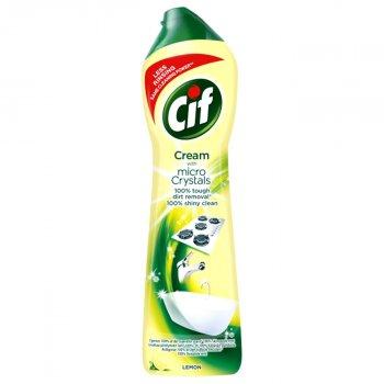 Крем для чищення Cif Актив Лимон 750 мл (8712561910750)