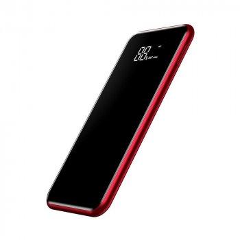 Зовнішній акумулятор Baseus Wireless Charge Power Bank 8000 mAh - Red (PPALL-EX09)