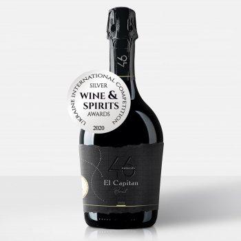 Вино ігристе 46 Parallel El Capitan Brut біле брют 0.75 л 11.5% (4820233640097)