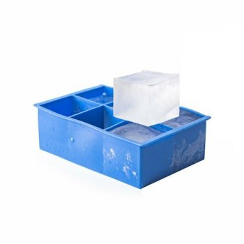 "Форма для льда Hendi ""куб"" 6 штук 5х5 см h5 см силикон (679036)"