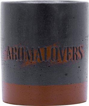 Ароматична соєва свічка в бетоні Aromalovers Пряник 240 г (ROZ6206102585)