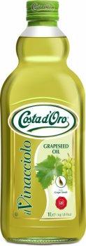 Масло из виноградных косточек Costa d'Oro Vinacciolo grapeseed oil 1 л