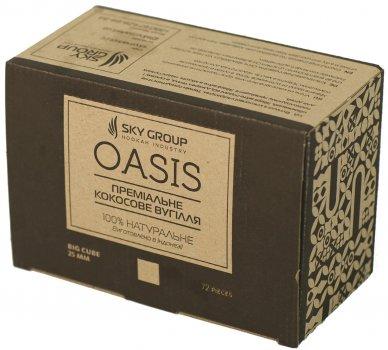 Уголь для кальяна Sky Group Oasis 1 кг в коробке