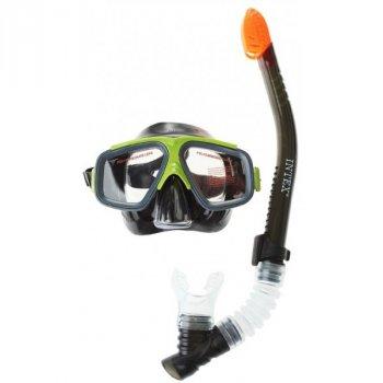Набор 3 в 1 для плавания маска ласты трубка Intex 55657 41-45 (452)