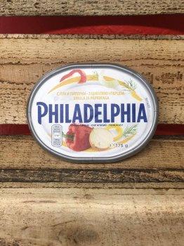 Сыр Philadelphia с луком , перцем и укропом 175г