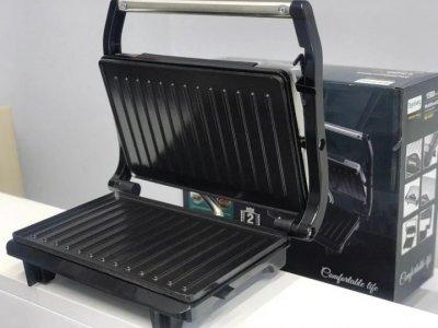 Багатофункціональна Електрогриль сэндвичница, бутербродниця 1500 Вт Foustin RB-5401 (Rainberg) з антипригарним покриттям