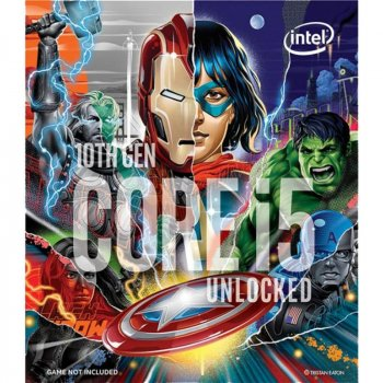 Процесор Intel Core i5 10600KA 4.1 GHz (12MB, Comet Lake, 125W, S1200) Box (BX8070110600KA)