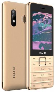 Мобільний телефон Tecno T454 Champagne Gold