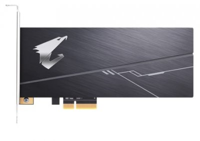 Твердотільний Накопичувач SSD Gigabyte 1TB AIC AORUS NVMe PCIe 3.0 4x RGB (GP-ASACNE2100TTTDR)