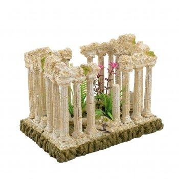 Декорация Tetradon Руины Херсонеса 21х15.5х14 см (JQ079SH)
