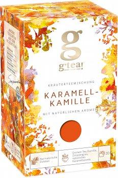 Трав'янисто-ягідна суміш G'tea Карамельна ромашка 1.75 г х 20 шт. (5060207699143)