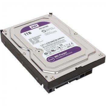 Жесткий диск Western Digital 1ТБ 3.5'' 5400об/мин 64МБ SATAIII Purple (WD10PURZ)