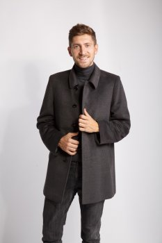 Пальто Mapata 46 Сірий (9407)