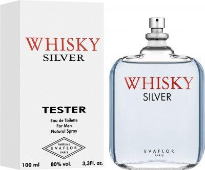 Тестер Туалетная вода для мужчин Evaflor Whisky Silver 100 мл (ROZ6400103886)