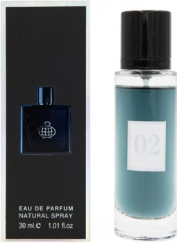 Парфюмированная вода для мужчин Fragrance World №2 Canale De Blue аналог Bleu De Chanel. 30 мл (6291106902945)