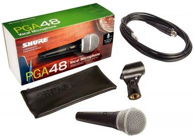 Мікрофон вокальний Shure PGA48-XLR