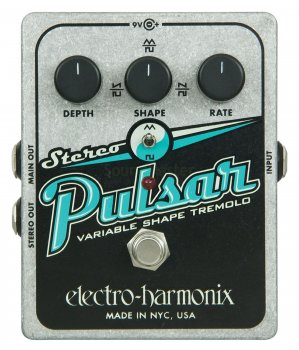 Педаль эффектов Electro-Harmonix Stereo Pulsar