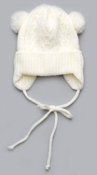 Шапка Модный карапуз 03-01035-0-1010388 38-40 см Молочная (4824671910354)