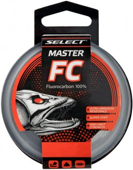 Флюорокарбон Select Master FC 20 м 0.189 мм 6lb/2.4 кг (18706169)