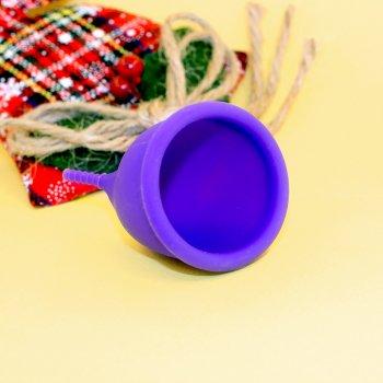 Менструальная чаша AEIOU Size 2 и мешочек для хранения