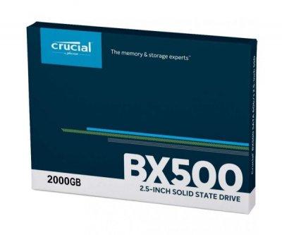 SSD накопичувач Crucial BX500 2 TB (CT2000BX500SSD1)