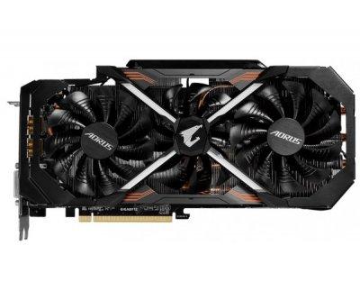 Відеокарта GIGABYTE GeForce GTX 1080 Ti AORUS 11G (GV-N108TAORUS-11GD)