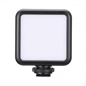 Накамерный постоянный свет для фото видеосъемки Ulanzi W49 LED с креплением для холодного башмака и резьбой 1/4 (5544LZ)