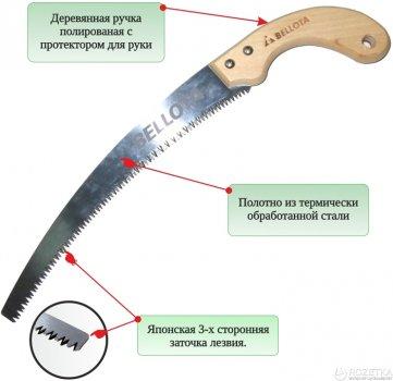 Ножовка садовая в чехле Bellota 280 мм (4587-11.B)