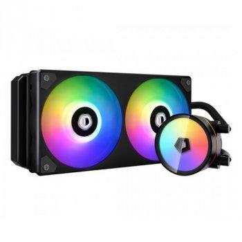 Система водяного охолодження ID-Cooling Iceflow 240 ARGB, Intel: 2066/2011-3/2011/1200/1151/1150/1155/1156, AMD: AM4, 285х120х30 мм, 4-pin