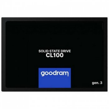 """SSD 480GB GOODRAM CL100 GEN.3 2.5"""" SATAIII TLC (SSDPR-CL100-480-G3)"""